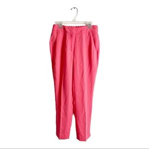J. Crew Pull-On Easy Pant in Matte Crepe Coral 00